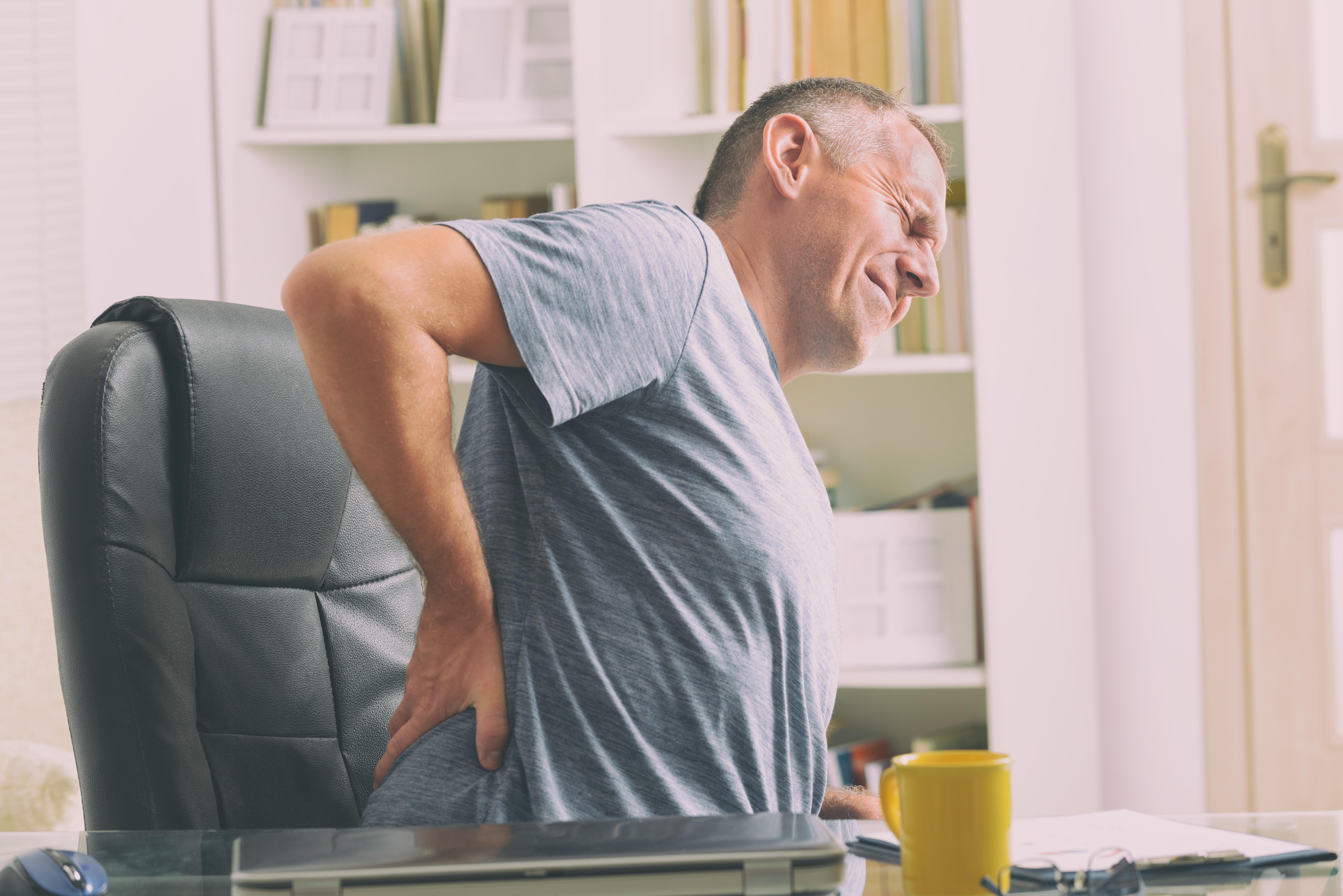 Plötzliche Rücken-Schmerzen: Information in Leichter Sprache