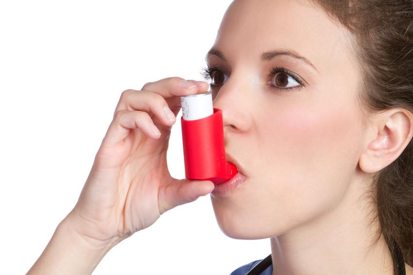 Asthma – Behandlung mit Kortison-Spray